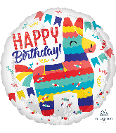 "18"" Piñata Party Foil Balloon"