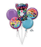 Bouquet Beanie Boos Foil Balloon 18&#39&#39 - 36&#39&#39