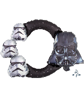 "29"" Airfill Only Star Wars Frame Foil Balloon"