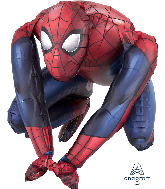 "15"" Airfill Only Sitting Spider-Man Foil Balloon"