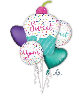 Bouquet Sweets & Treats Foil Balloon