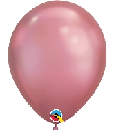 "11"" Chrome Mauve 100 Count Qualatex Latex Balloons"