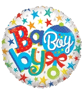 "18"" Baby Boy Rattle Foil Balloon"