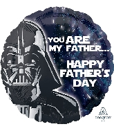 "18"" Star Wars Happy Father&#39s Day Foil Balloon"