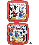 "18"" Mickey Roadster Racers HBD Foil Balloon"