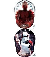 "26"" Star Wars The Last Jedi Villains Foil Balloon"