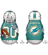 "39"" Football Player Miami Dolphins Foil Balloon"