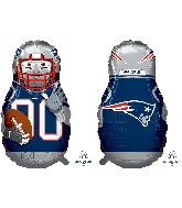 "39"" Football Player New England Patriots Foil Balloon"