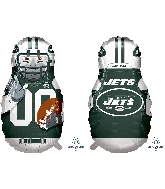 "39"" Football Player New York Jets Foil Balloon"