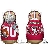 "39"" Football Player San Francisco 49ers Foil Balloon"