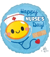 "18"" Happy Nurse's Day Foil Balloon"