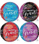 "16"" Grad Memories Orbz™ XL™ Foil Balloon"