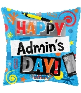"18"" Admin 's Day Elements Foil Balloon"