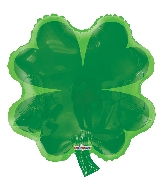 "18"" Shamrock Shape Foil Balloon"