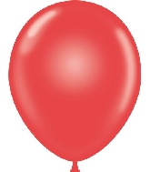 "17"" Standard Red Tuf Tex Latex Balloons 50 Per Bag"