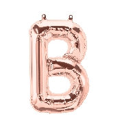 "16"" Airfill Only Letter B - Rose Gold  Letter"