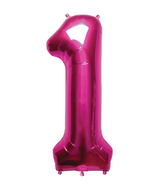 "34"" Northstar Brand Packaged Number 1 - Magenta"