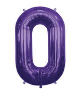 "34"" Foil Balloon Chain Deco Link (Chain Link) - Purple"