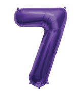 "34"" Northstar Brand Packaged Number 7 - Purple"
