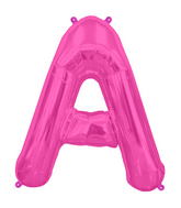 "34"" Northstar Brand Packaged Letter A - Magenta"