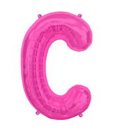 "34"" Northstar Brand Packaged Letter C - Magenta"