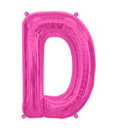 "34"" Northstar Brand Packaged Letter D - Magenta"