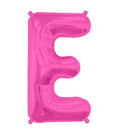 "34"" Northstar Brand Packaged Letter E - Magenta"
