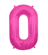 "34"" Northstar Brand Packaged Letter O - Magenta"