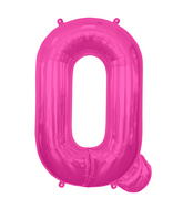 "34"" Northstar Brand Packaged Letter Q - Magenta"