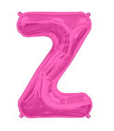 "34"" Northstar Brand Packaged Letter Z - Magenta"