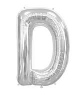 "34"" Northstar Brand Packaged Letter D - Silver"