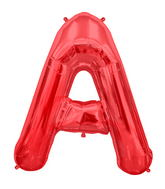 "34"" Northstar Brand Packaged Letter A - Red"