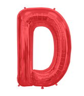 "34"" Northstar Brand Packaged Letter D - Red"