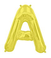 "34"" Northstar Brand Packaged Letter A - Gold"