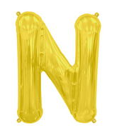 "34"" Northstar Brand Packaged Letter N - Gold"