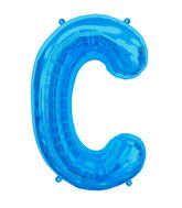"34"" Northstar Brand Packaged Letter C - Blue"