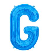 "34"" Northstar Brand Packaged Letter G - Blue"