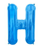 "34"" Northstar Brand Packaged Letter H - Blue"