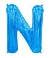 "34"" Northstar Brand Packaged Letter N - Blue"