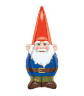 "38"" Foil Balloon Birthday Gnome"