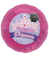 "18"" Foil Balloon Spanish Grad Princess"
