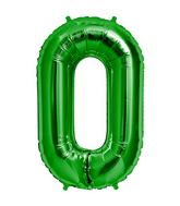 "34"" Foil Balloon Chain Deco Link (Chain Link) - Green"