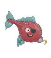 "41"" Foil Balloon Pirate Fish"