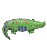 "36"" Foil Balloon Crocodile"