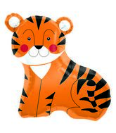 "33"" Foil Balloon Tiger"