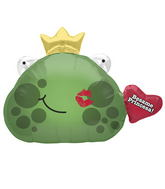 "32"" Foil Balloon Besame Frog Prince"
