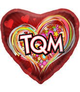"18"" Foil Balloon TQM Flowers"
