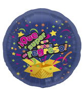 "18"" Foil Balloon Super Regreso"