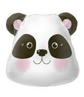 "28"" Foil Balloon Panda Head"