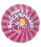 "18"" Foil Balloon Magical Birthday"